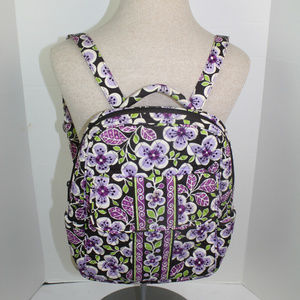 Vera Bradley Plum Petals Backpack